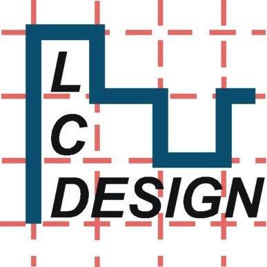 LC Design Logo, gerade