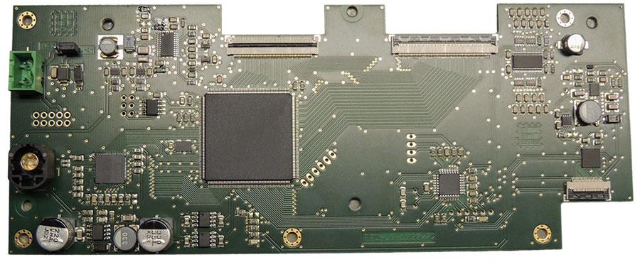 TFT-Modul 1920x720, 2x 24bit RSDS RGB, ohne TCON