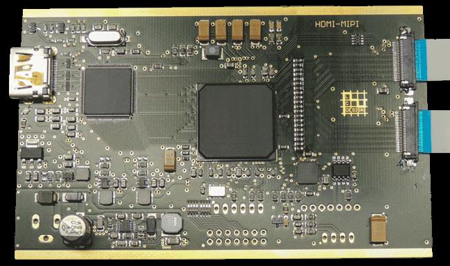 MIPI-Interface, Platine