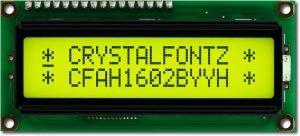 Charakter-Modul CFAH1602B-YYH