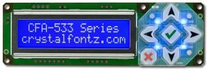 Crystalfontz Intelligent Display Modul