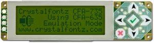 Crystalfontz Intelligent Display Modul
