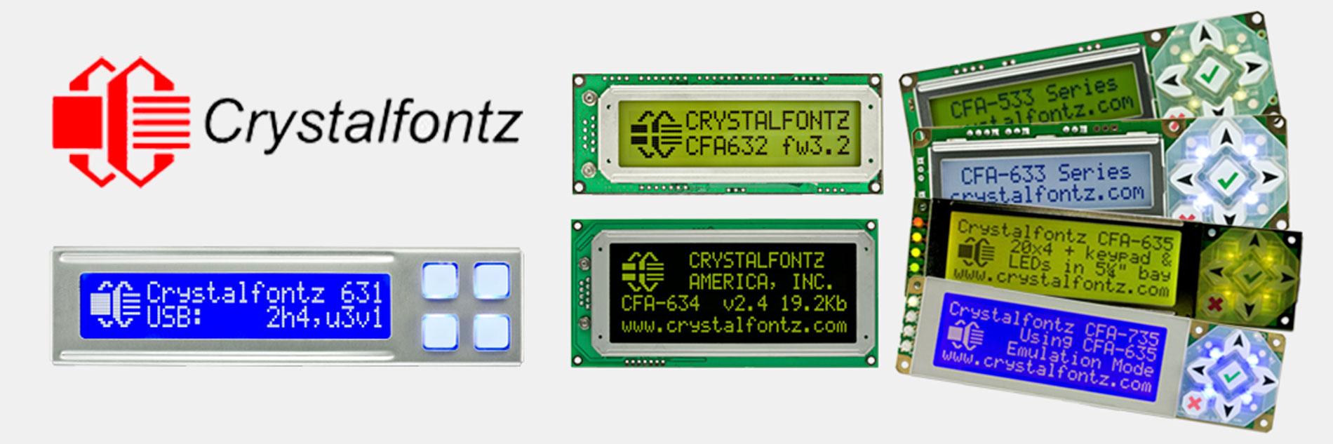 Crystalfontz Intelligent Display Module