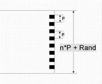 Raster Breite Definition Flexkabel